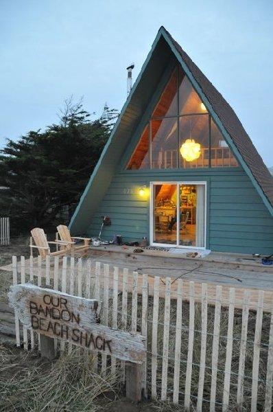 Bandon beach shack